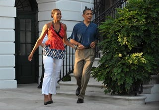 Illustration for article titled First Family Heads to Weekend Family Vacation