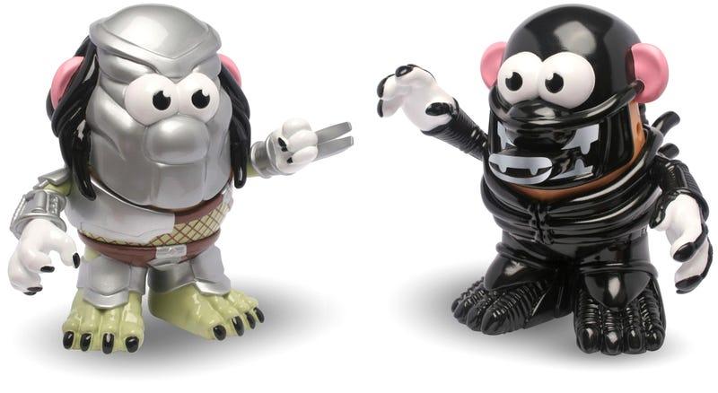 Illustration for article titled Brunch Is the Only Winner of a Mr. Potato Head Alien vs. Predator Battle