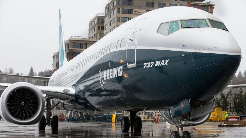 El nuevo Boeing 737 Max. Foto: Stephen Brashear/Getty Images