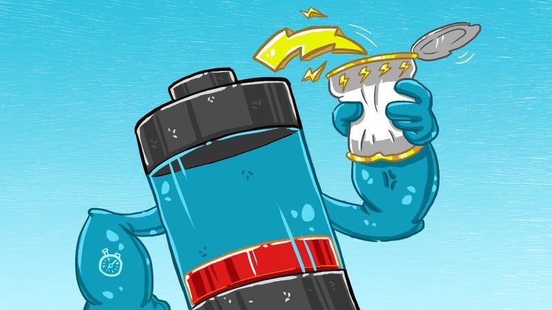 Illustration for article titled 10 consejos para prolongar la vida útil de la batería de tu móvil o portátil