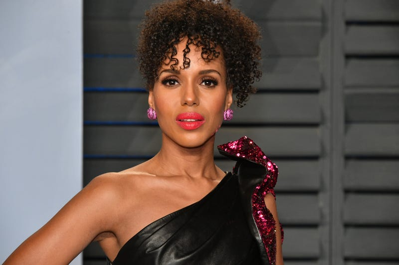 Kerry Washington attends the 2018 Vanity Fair Oscar party on March 4, 2018, in Beverly Hills, Calif.