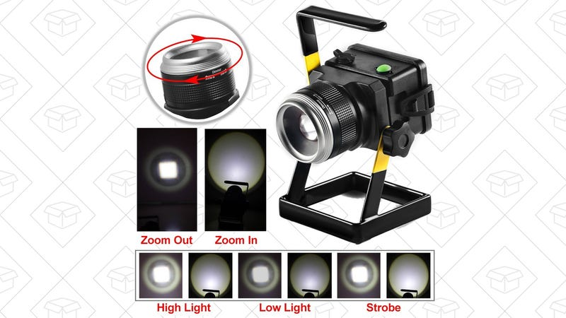 TOTOBAY Work Light, $21 with code 2J7F3WHT