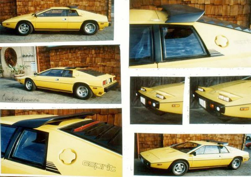 For $49,500, This 1977 Lotus Esprit Is Some Drastic Plastic