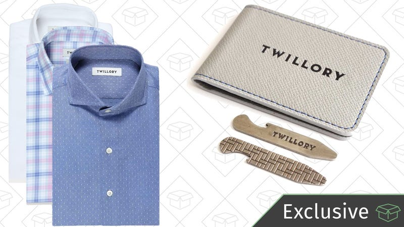 Two shirts for $99 with code KINJA2 | Plus FREE bottle opener collar stayFour shirts for $179 with code KINJA4 | Plus FREE bottle opener collar stayFive shirts for $209 with code KINJA5 | Plus FREE bottle opener collar stay