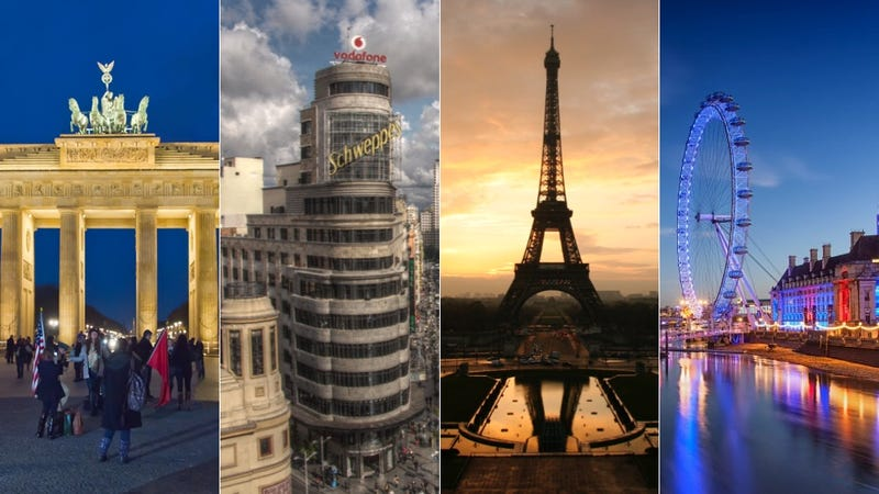 De dnde viene el nombre de las principales capitales europeas