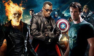Illustration for article titled Marvel's got the Blade, Punisher and Ghost Rider movie rights back