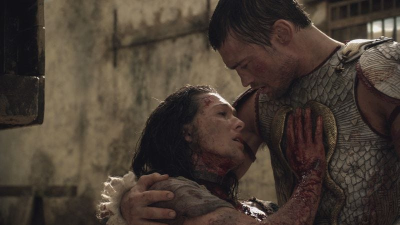 Erin Cummings, Andy Whitfield (Starz)