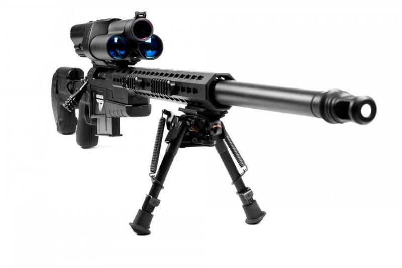 Illustration for article titled Este rifle con Linux acierta en un blanco a casi un kilómetro