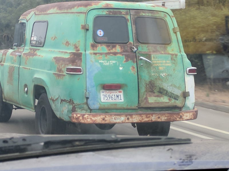 Check out the radiation warning on the right rear door, I would love to know wherethis was in service!