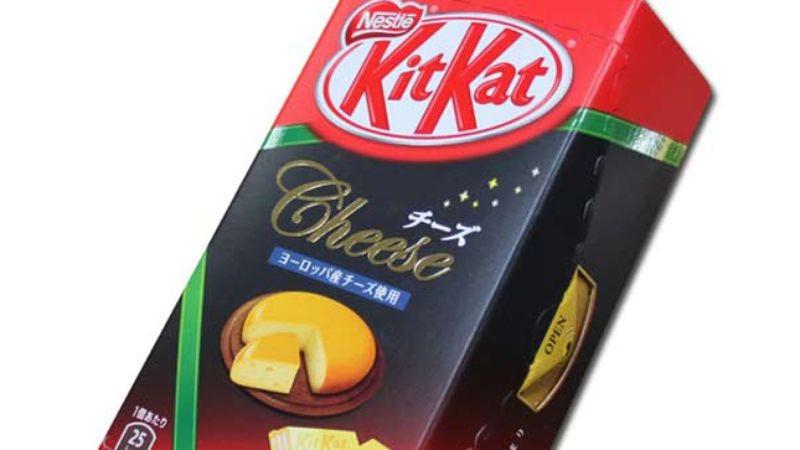 Illustration for article titled Kit Kat: European Cheese, Rilakkuma Hotcake, Strawberry Cheesecake, and Sakura Maccha Latte