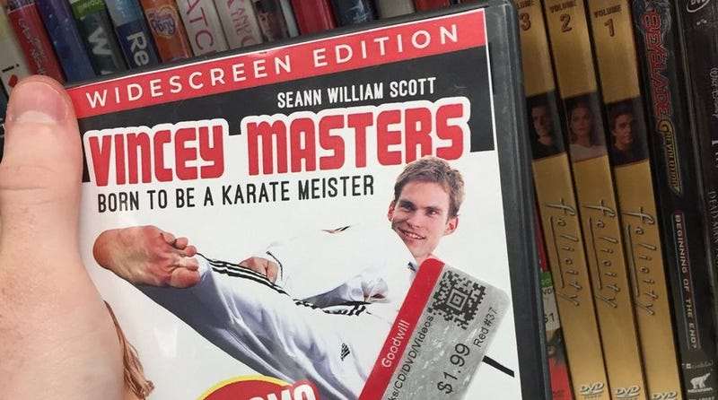 Illustration for article titled Let's get nostalgic forVincey Masters: Born To Be A Karate Meister,whether it exists or not