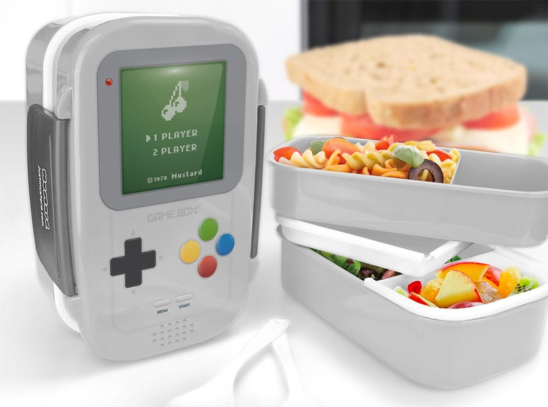 Illustration for article titled Keep Your Lunch Time Power-Ups in This Game Boy Bento Box