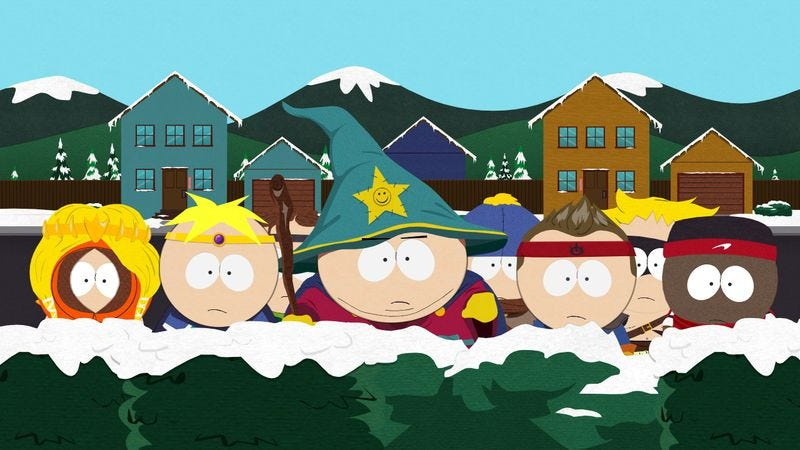 Illustration for article titled South Park game delayed in Germany over forgotten swastika