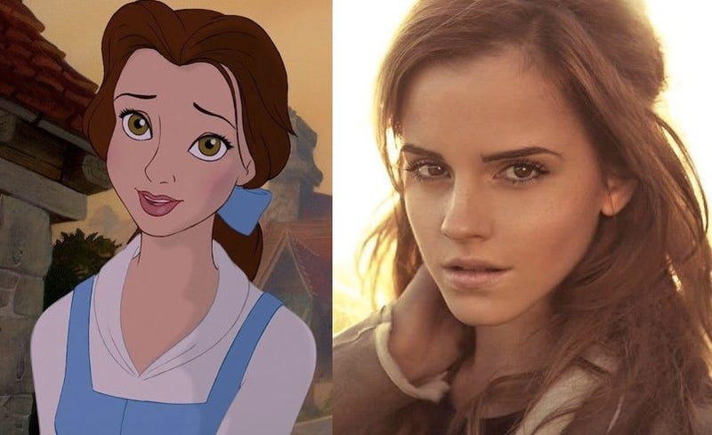Illustration for article titled Emma Watson Will Be Belle In Disney's Live-Action Beauty And The Beast