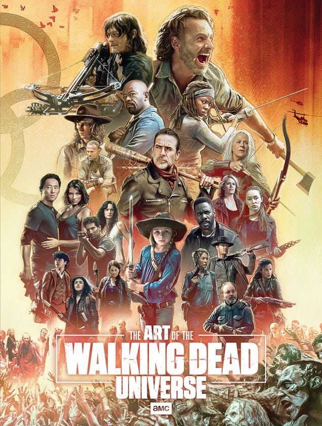 The Walking Dead Universe Book Cover Revealed by AMC Networks