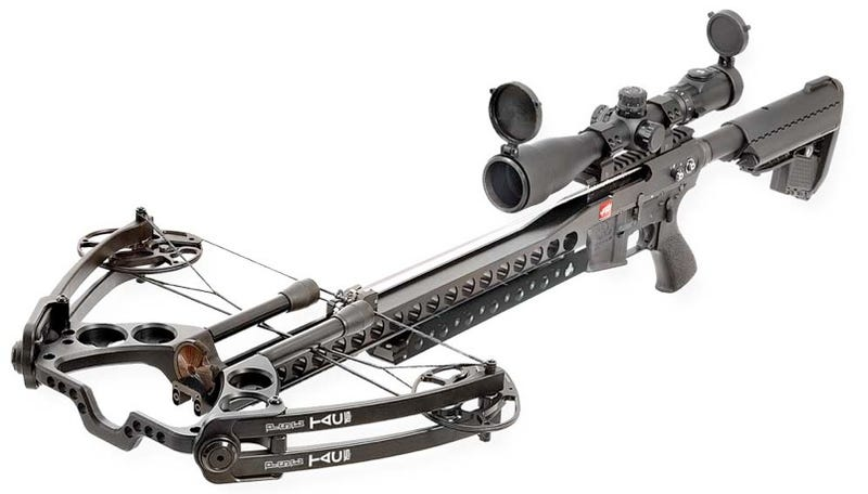 Illustration for article titled TAC-15 Tactical Crossbow Makes Me Wish for a Zombie Outbreak