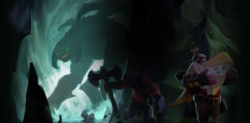 Illustration for article titled Now DOTA 2 Has A Battle Royale Mode