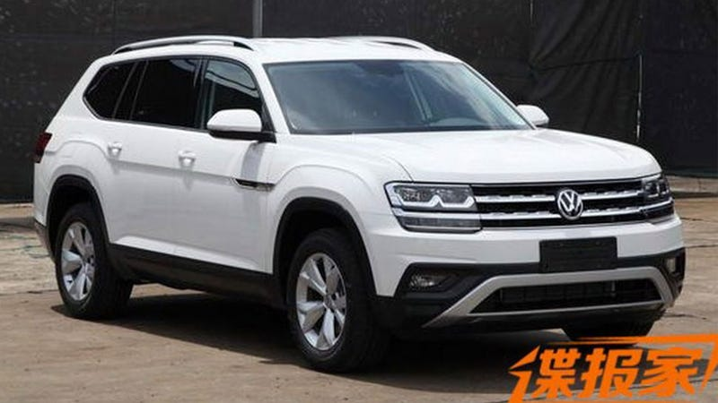 This Looks Like Volkswagen S New Big Suv And It Might Be Called