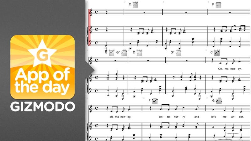 Illustration for article titled iSheetMusic for iOS: Reading Music Just Got Easier