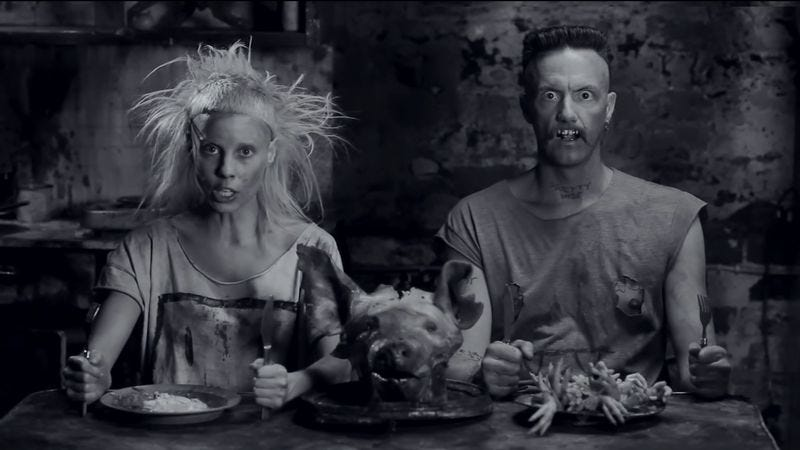 Illustration for article titled Die Antwoord still hostile, compelling on latest LP