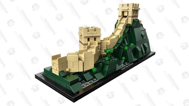 LEGO Great Wall of China Kit | $40 | Amazon