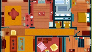 Illustration for article titled Check Out the Floor Plans for the Homes of Popular TV Shows