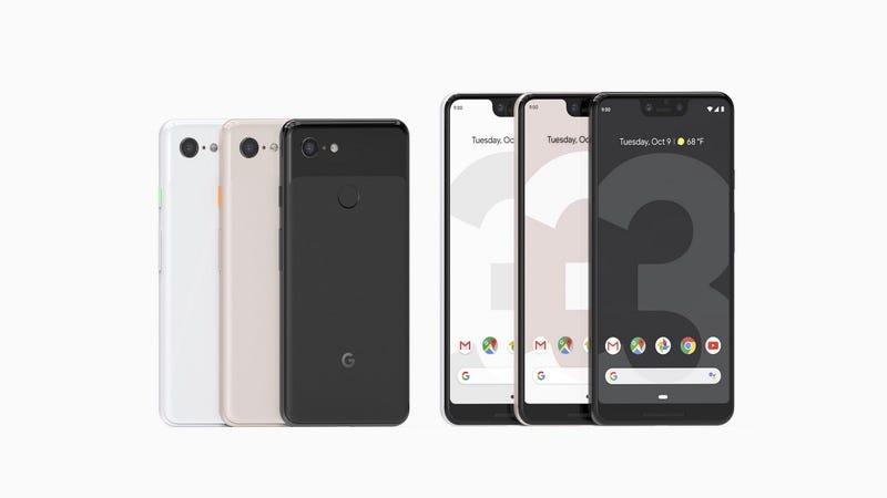 Illustration for article titled Cuánto cuestan los nuevos Pixel 3 y Pixel 3XL