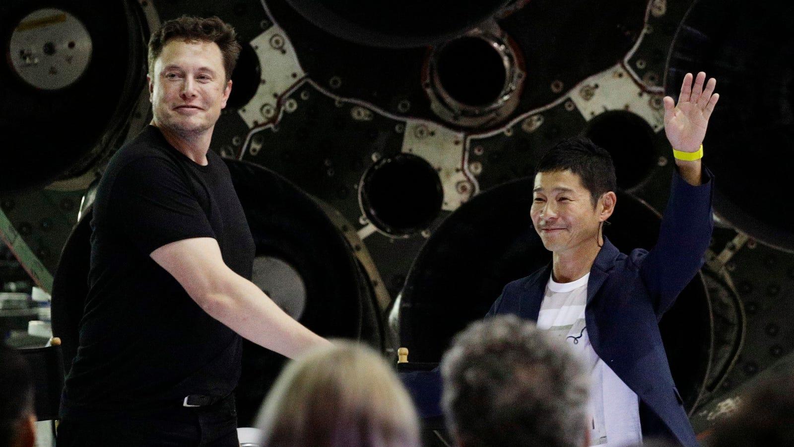 Elon Musk Names Japanese Billionaire Yusaku Maezawa as First Tourist on SpaceX's BFR