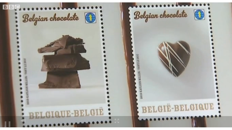 Illustration for article titled Belgium Now Has Stamps That Smell and Taste of Chocolate