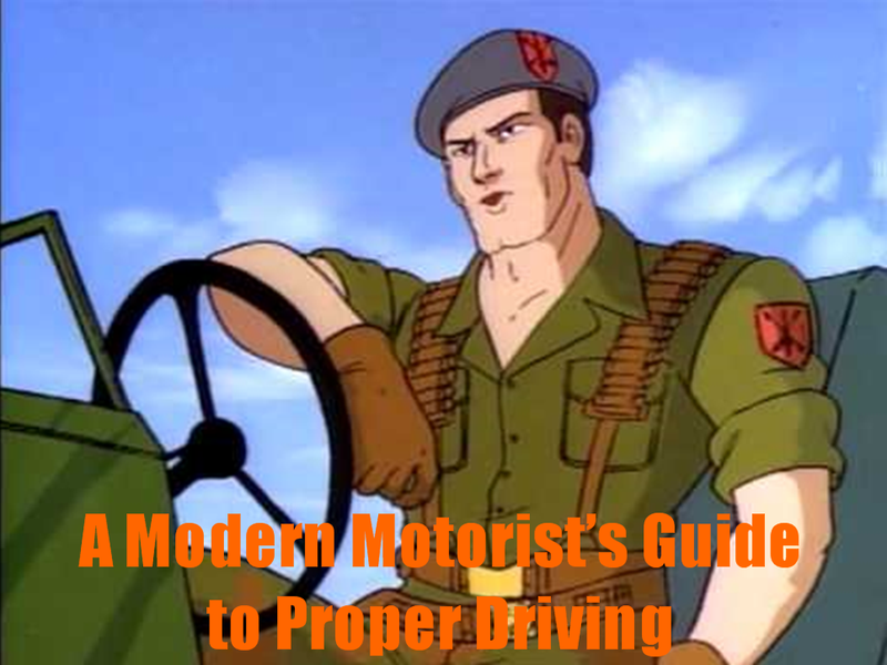 Illustration for article titled A Modern Motorist's Guide to Proper Driving