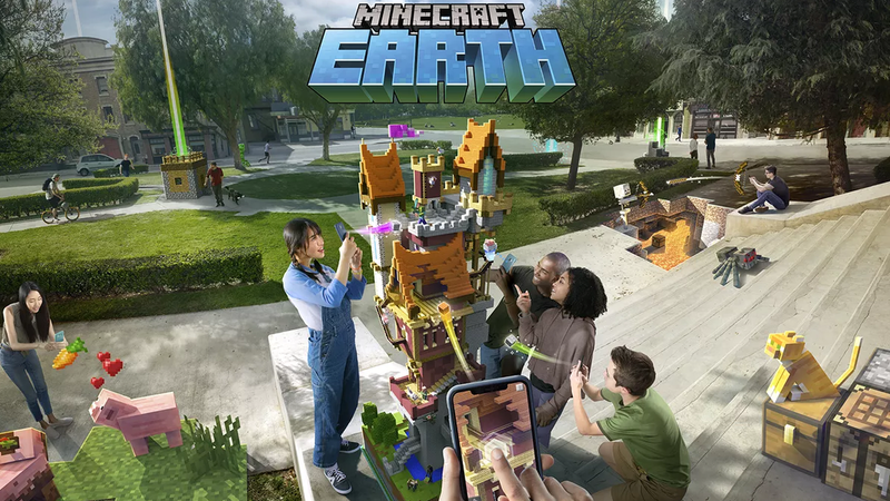 Illustration for article titled Minecraft Earth Is Launching In Early Access This October