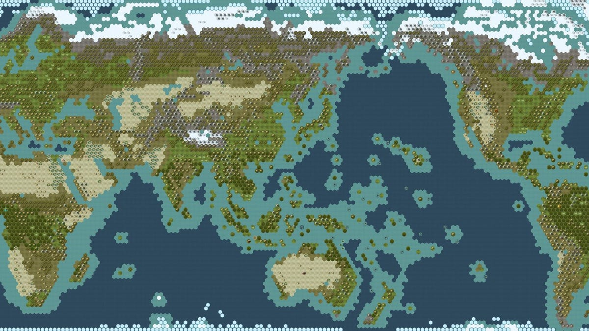 Make Your Civ V Game A Little More Realistic Civ Earth Map on