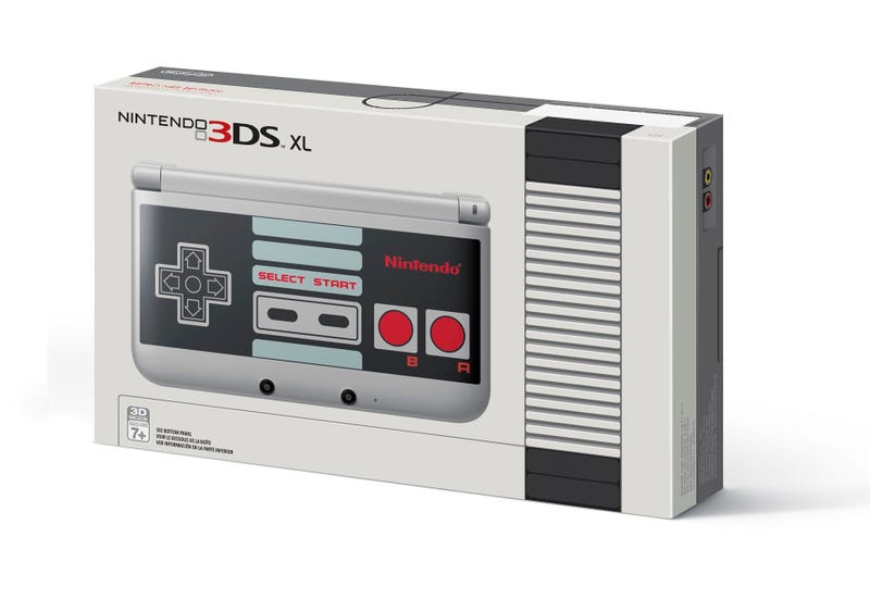 Illustration for article titled Nintendo Releasing GameStop-Only NES Version Of 3DS [CORRECTION]