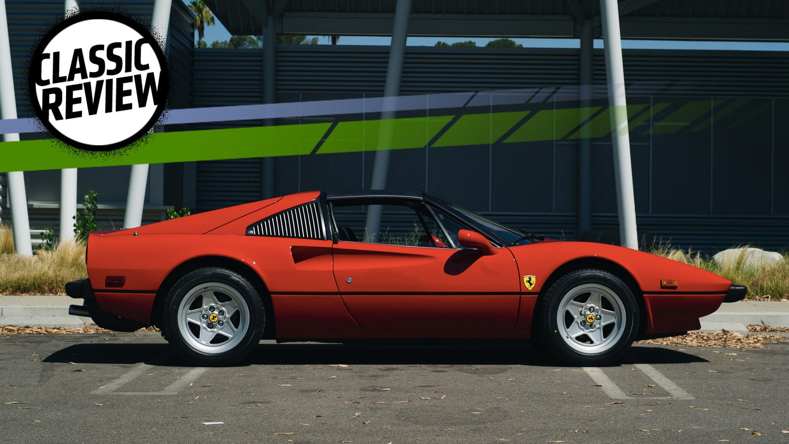 A Ferrari 308 GTSi Is Terrible To Drive Today But That Doesn ... on