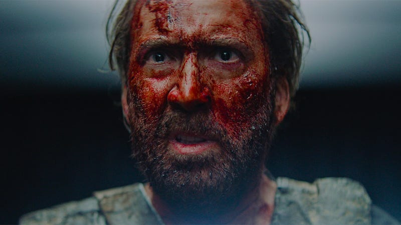 Nicolas Cage is out for blood in Mandy.