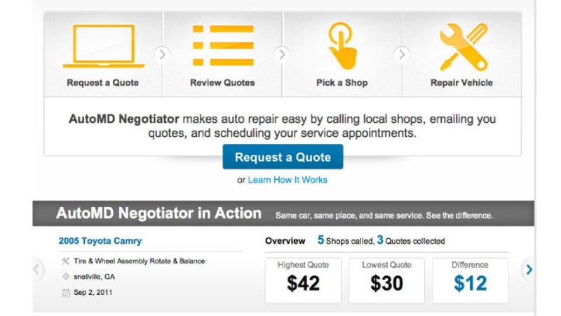 Automd Estimates Auto Repair Costs And Negotiates With Repair