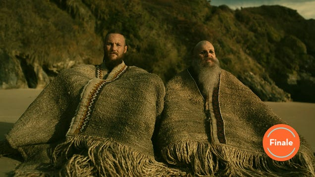 Ragnar Lothbrok's legacy haunts a striking but empty Vikings right to the finish