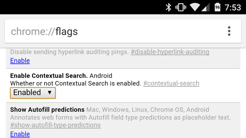 Illustration for article titled Bring Back Touch to Search in Chrome For Android With This Setting