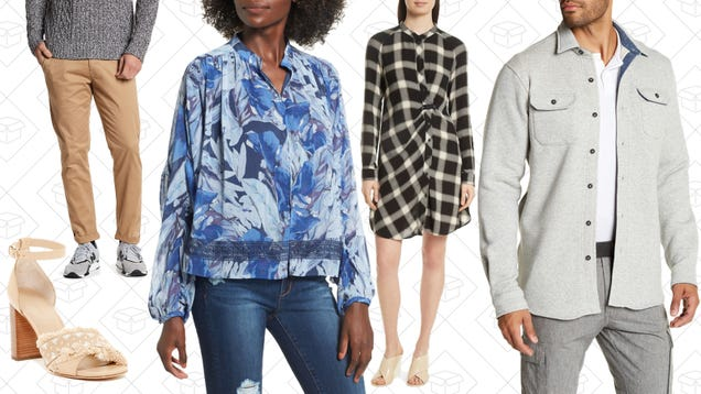 Clear The Rack Is Back With an Extra 25% Off Clearance Styles