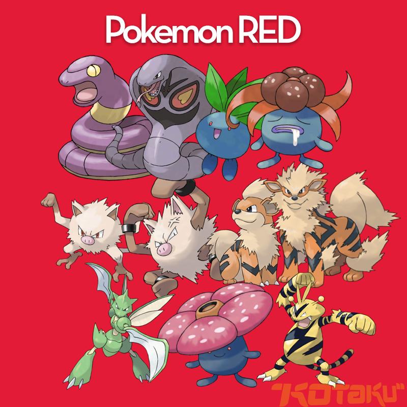 Resultado de imagen de Pokemon Red y Pokemon Blue