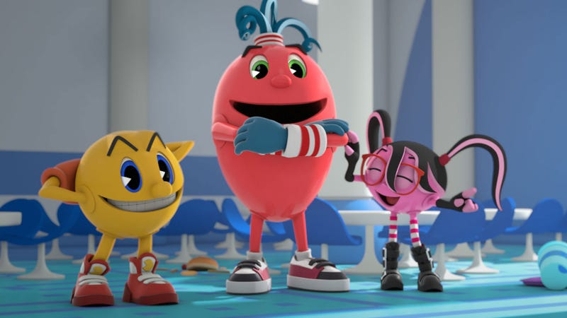 Illustration for article titled Pac-Man Returns to Television in 2013, and He's Bringing Friends
