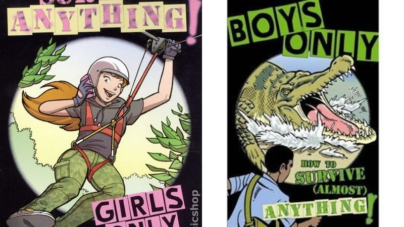 Illustration for article titled Awesome 8-Year-Old Gets Sexist Books Removed From Bookstore