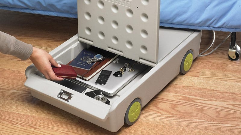 ECR4Kids Lock and Roll Under-Bed Safe | $46 | Amazon