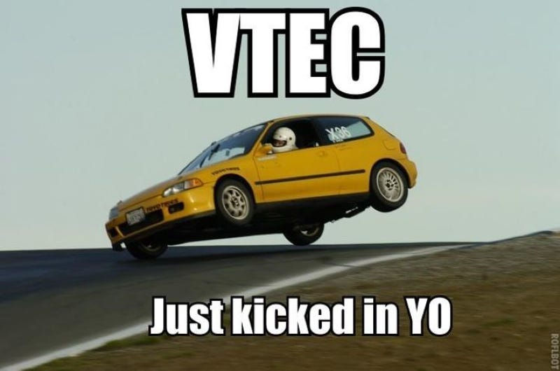 Illustration for article titled Kat Callahan Twitter Cover Contest: VTEC WILL KICK IN YO