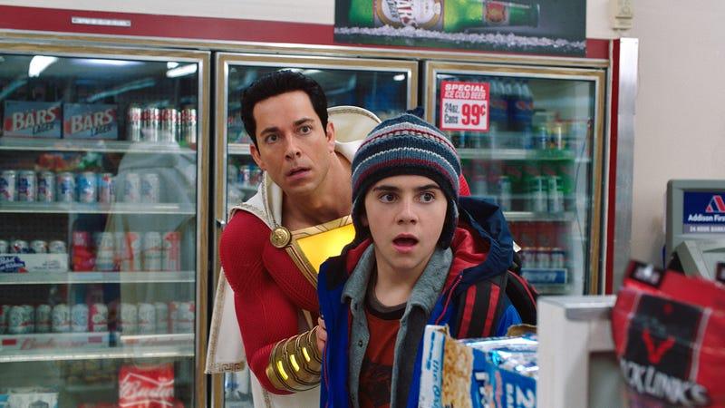 Shazam! zaps an old-fashioned superhero into a blockbuster world