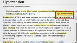 55957561f710 Illustration for article titled Medical Translator for Chrome Turns Medical  Jargon Into Plain English