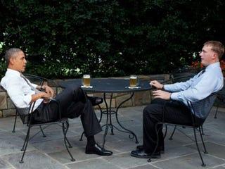 President Obama and Dakota Meyer (Pete Souza/the White House)