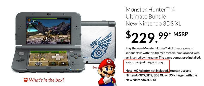 Illustration for article titled New 3DS Description is... Confusing.