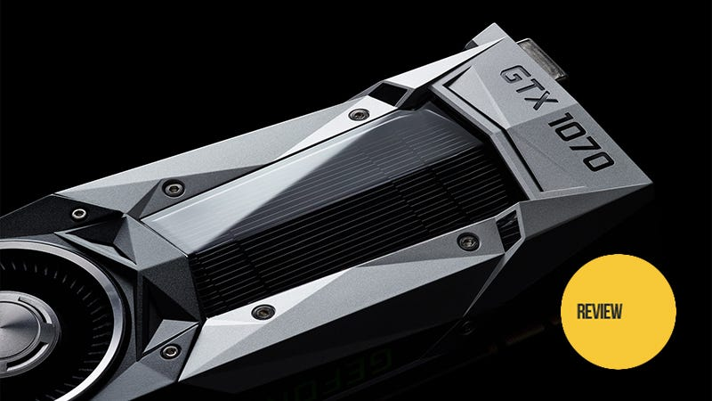 Illustration for article titled Nvidia Geforce GTX 1070 Review: The New Sweet Spot