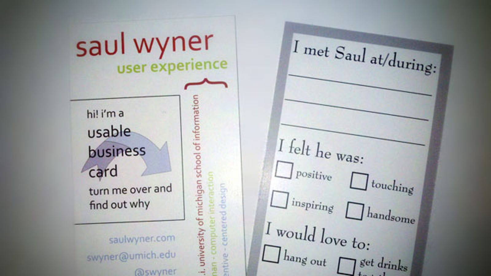 Make Your Business Cards More Interactive to Help People Remember You